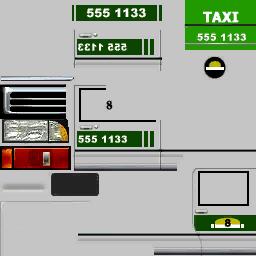 GameCube - Burnout - European Taxi - The Textures Resource