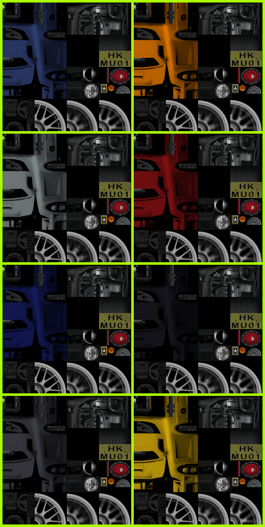 Xbox - Burnout Revenge - Limited M-Type ST - The Textures
