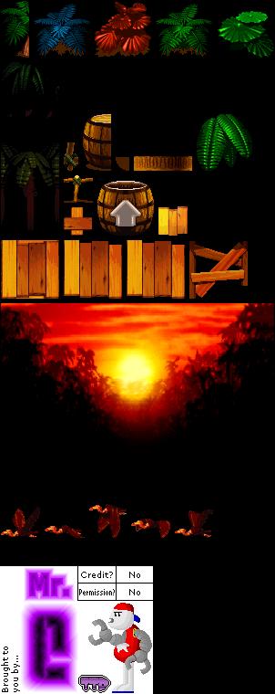 Nintendo 64 - Super Smash Bros  - Kongo Jungle - The