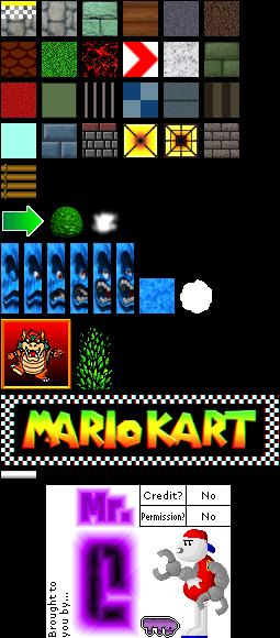 Nintendo 64 Mario Kart 64 Bowser S Castle The Textures Resource