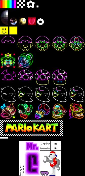 Nintendo 64 Mario Kart 64 Rainbow Road The Textures Resource