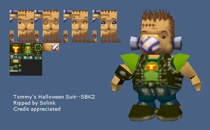 Nintendo 64 - Snowboard Kids 2 - Tommy's Halloween Suit