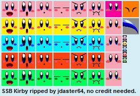 Nintendo 64 - Super Smash Bros  - Kirby - The Textures Resource