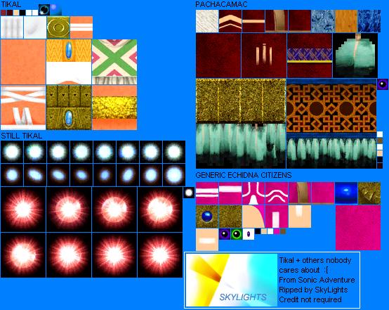 PC / Computer - Sonic Adventure DX: Director's Cut - Tikal