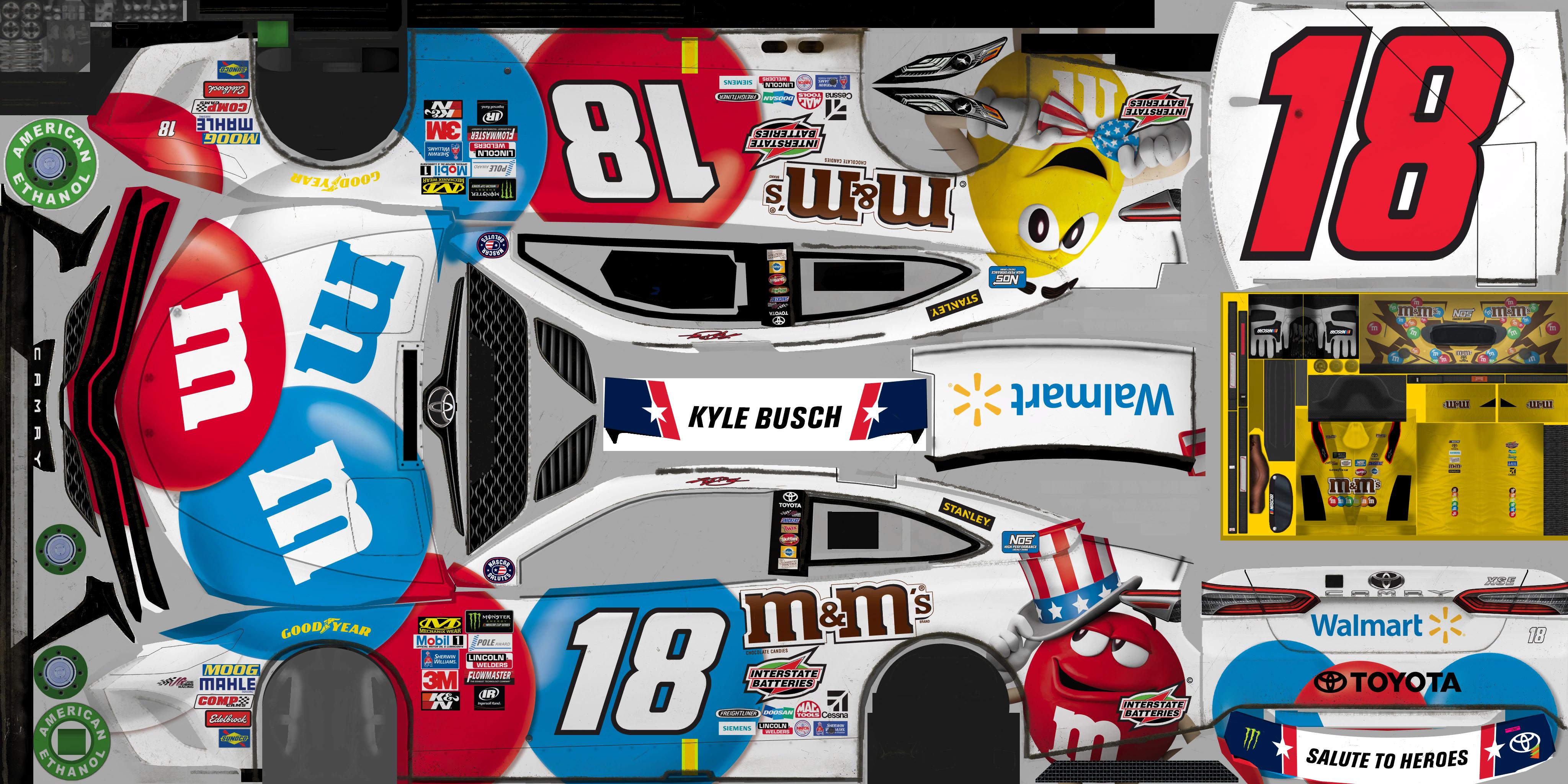 PC / Computer - NASCAR Heat 2 - #18 Kyle Busch - The