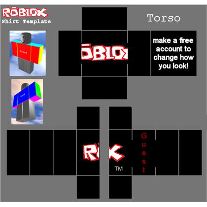 Pc Computer Roblox Guest Shirt 2008 2016 The Textures