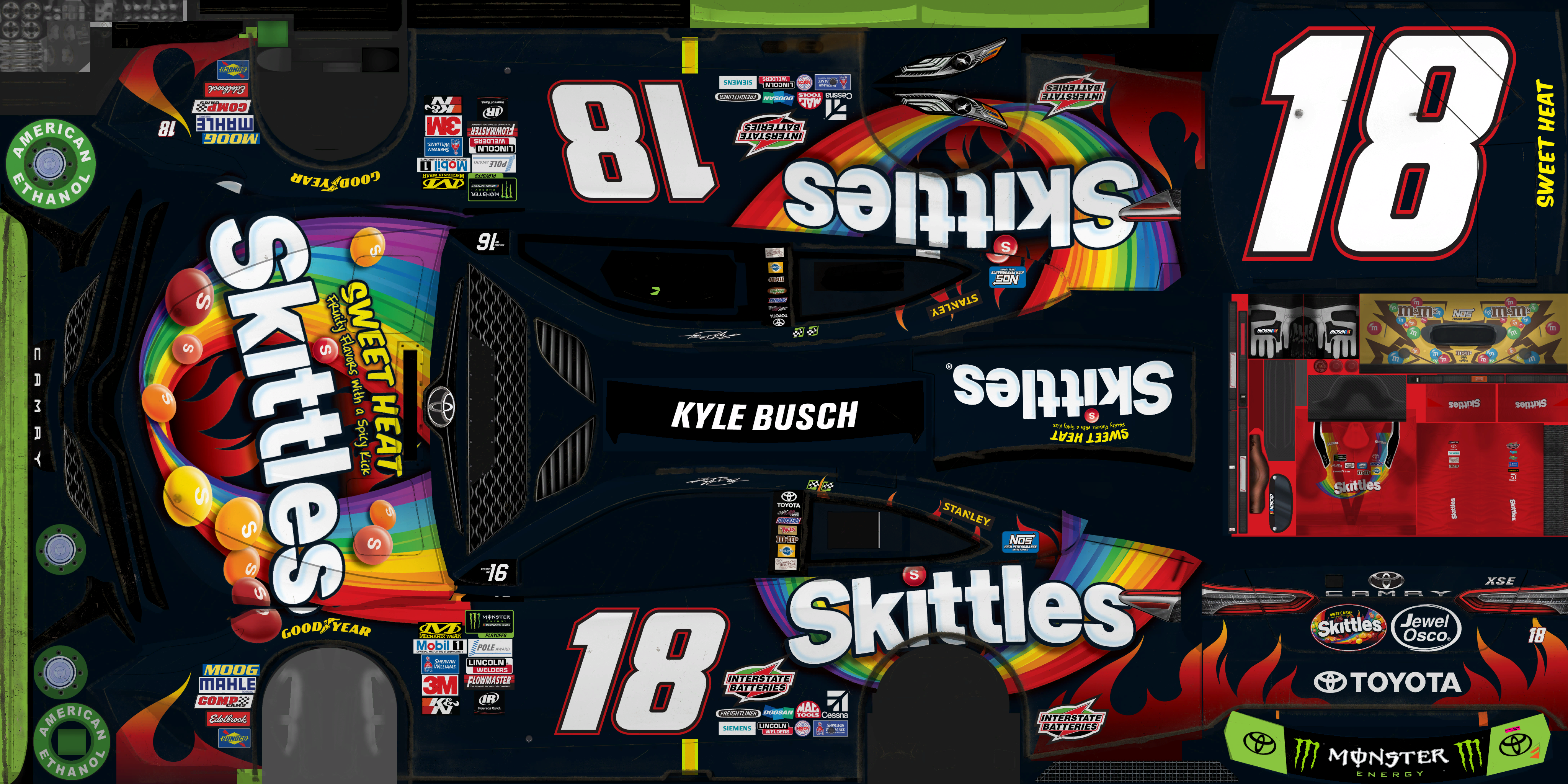 The Textures Resource - Full Texture View - NASCAR Heat 2