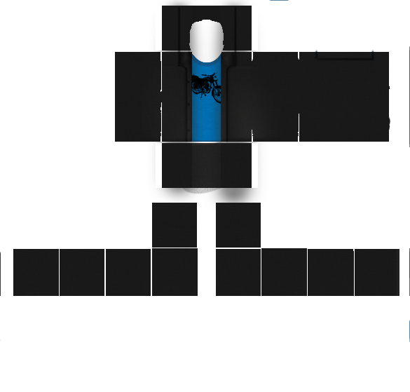 Pc Computer Roblox Blue And Black Motorcycle Shirt - download template for roblox shirts