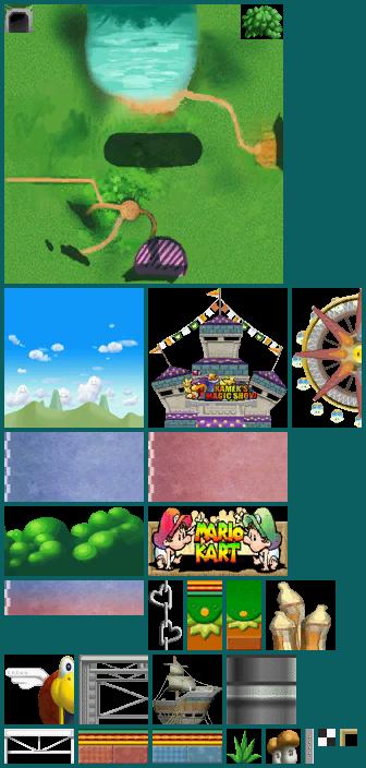 DS / DSi - Mario Kart DS - GCN Baby Park - The Textures Resource