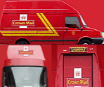 Crown Mail Van