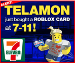 Get ROBLOX Cards at 7-Eleven