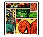 Retro Marvel Panels