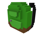 Green 8-Bit Backpack