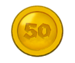 10, 30, and 50 Coins (SM3DW)