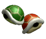 Green Shell & Red Shell