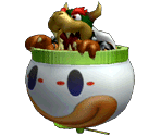 Koopa Clown Car Trophy