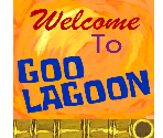 Goo Lagoon Entrance Sign
