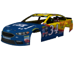 #34 Chris Buescher (CSX)