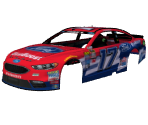 #17 Ricky Stenhouse Jr. (Ford EcoBoost)