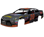 #20 Erik Jones (NASCAR Heat Evolution)