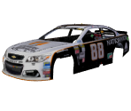 #88 Dale Earnhardt Jr. (Nationwide Throwback)