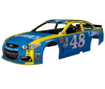 #48 Jimmie Johnson (Lowe's Throwback)