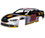 #22 Joey Logano (Shell/Pennzoil Throwback)