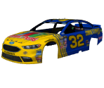 #32 Bobby Labonte (Otter Pops Throwback)