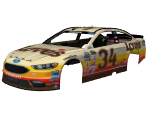 #34 Chris Buescher (Love's Throwback)