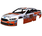 #16 Greg Biffle (Hooters Throwback)