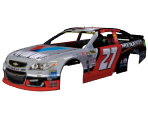 #27 Paul Menard (Valvoline/Menards Throwback)