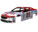 #21 Ryan Blaney (Motorcraft Throwback)