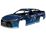#78 Martin Truex Jr. (Auto-Owners Insurance)