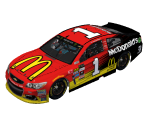 #1 Jamie McMurray (Atlanta)