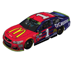 #1 Jamie McMurray (Chicagoland II)