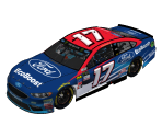 #17 Ricky Stenhouse Jr. (Texas)