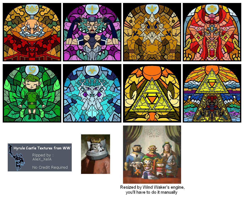 GameCube - The Legend of Zelda: Wind Waker - Hyrule Castle - The ...