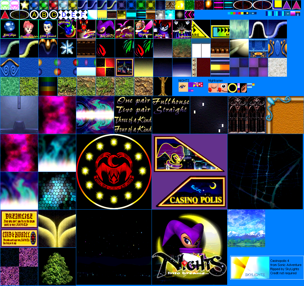 The Textures Resource Full Texture View Sonic