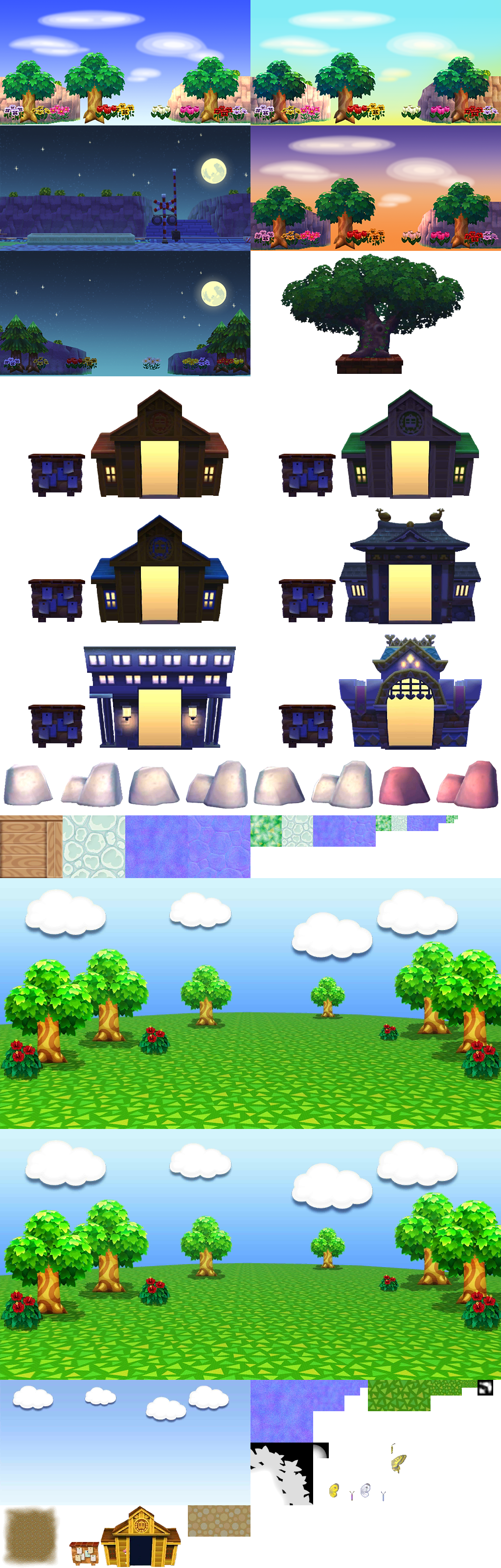 Animal Crossing Puzzle League Background