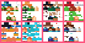 MINECON Earth Skin Pack