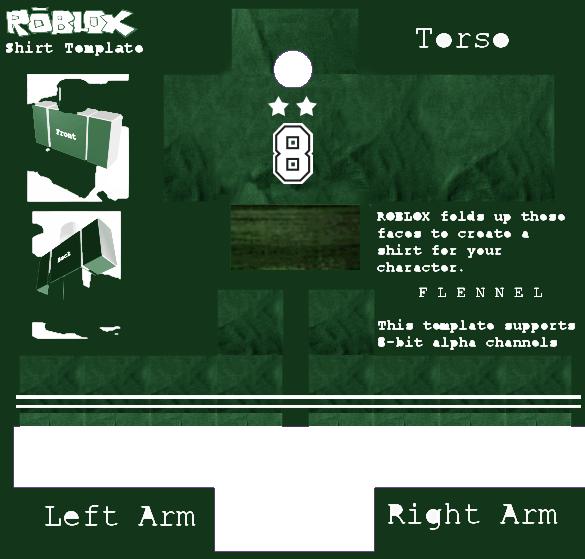 pc    computer - roblox - green jersey