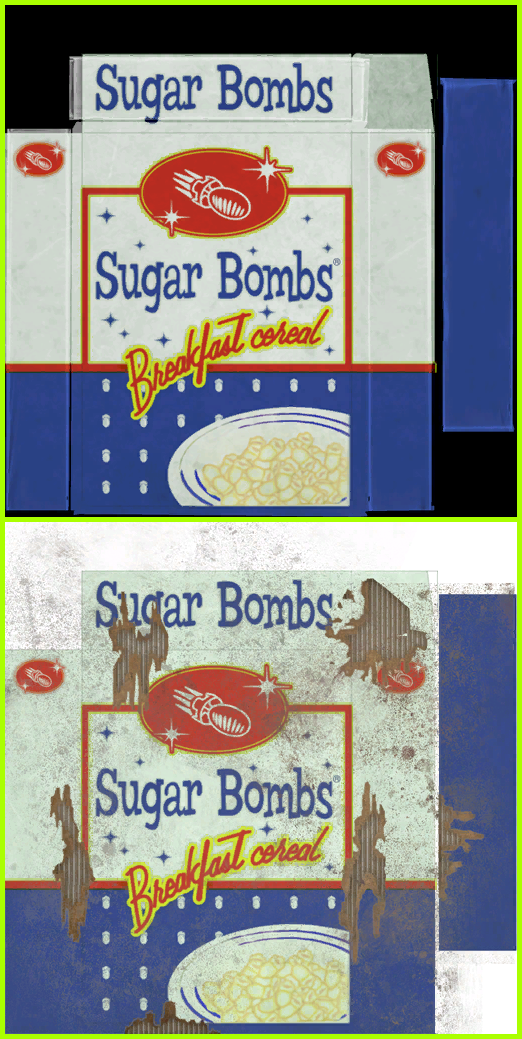 Sugar Bombs Cereal
