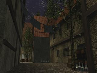 Market Back Alley 1 (Night)