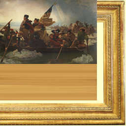 Portrait of a Hero Crossing the Delaware