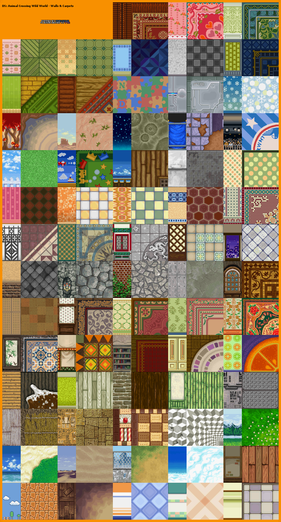 The Textures Resource Full Texture View Animal