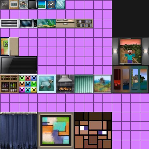 Minecraft Custom Painting Texture Pack