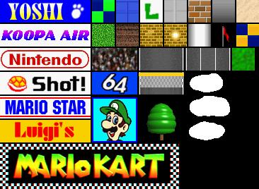 Nintendo 64 Mario Kart 64 Luigi Raceway The Textures Resource