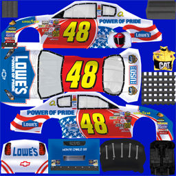 #48 Lowe's/Power of Pride Chevrolet