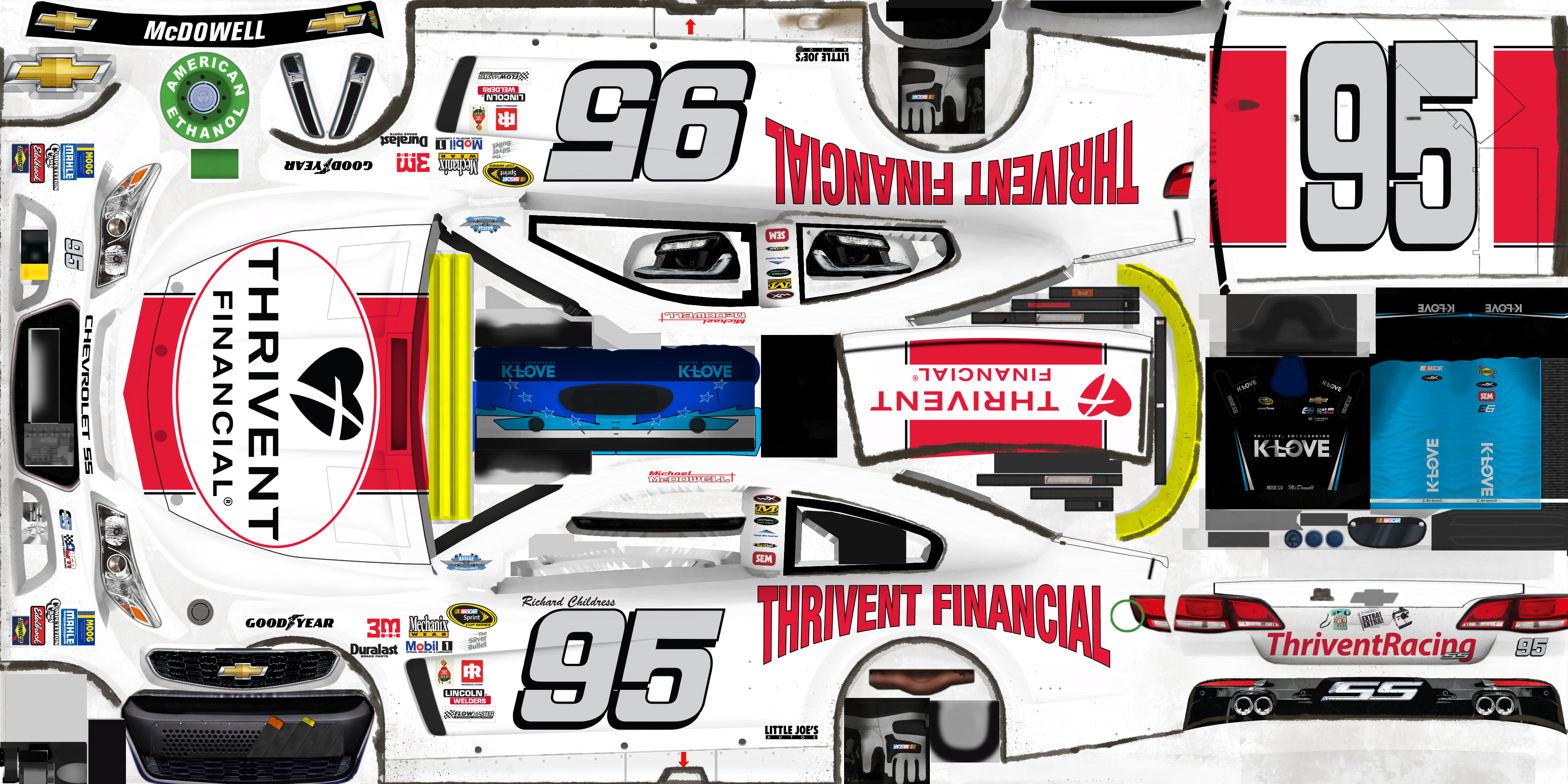 #95 Michael McDowell (Thrivent Financial Throwback)
