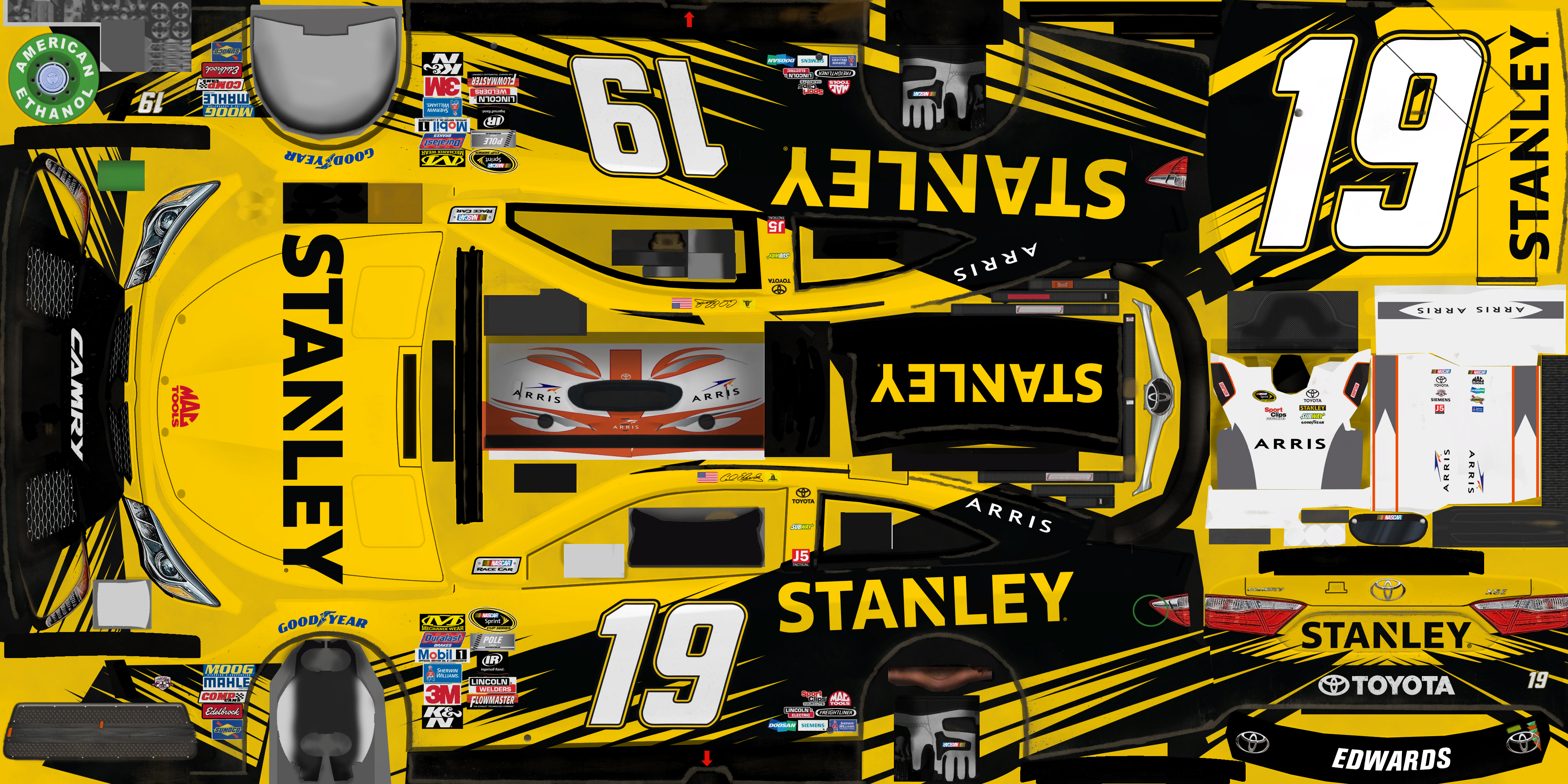 #19 Carl Edwards (STANLEY Tools)